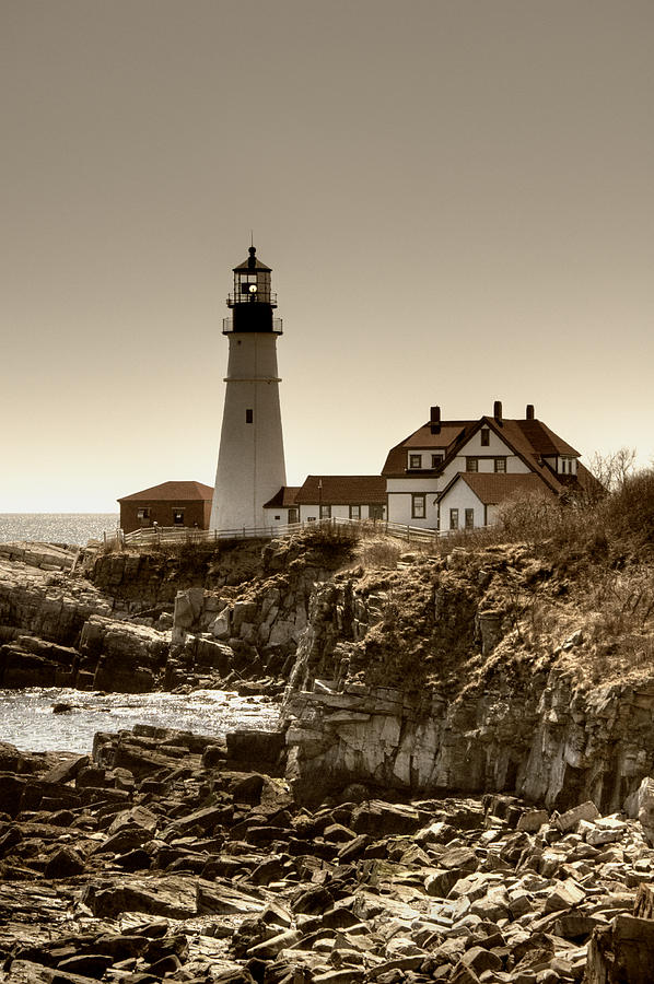 Portland Head Lighthouse Photograph