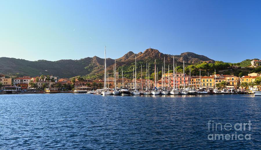 Porto Azzurro Italy  city photos gallery : Porto Azzurro From The Sea is a photograph by Antonio Scarpi which was ...