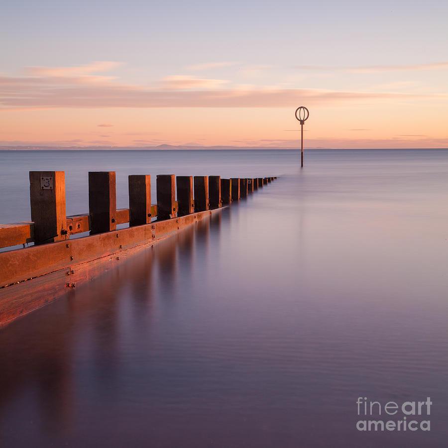 Portobello Beach Groynes Photograph