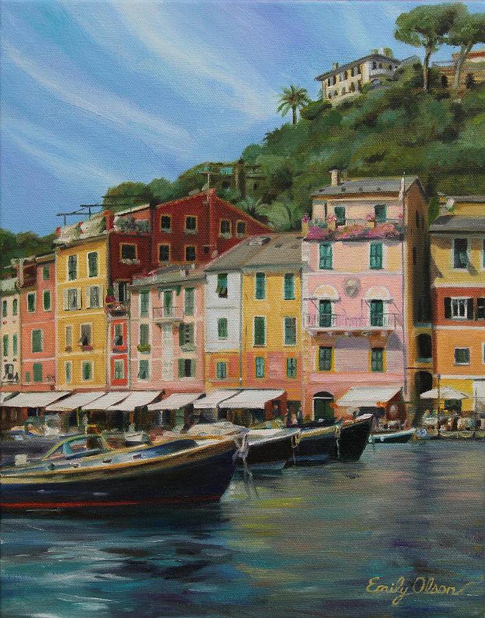 Portofino Summer Painting