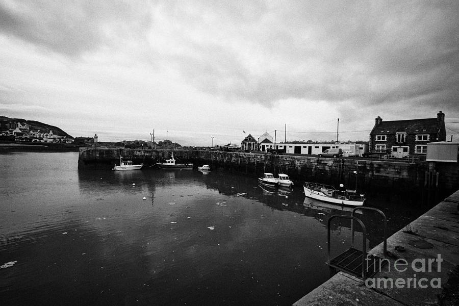 Portpatrick Photograph - Portpatrick Harbour Scotland Uk by Joe Fox