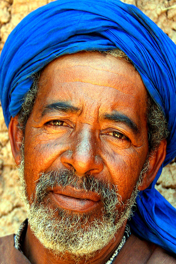 Portrait Of A Berber Man  Photograph