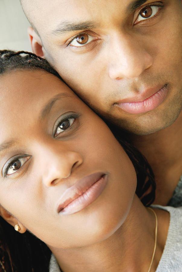 Portrait Of A Couple Photograph
