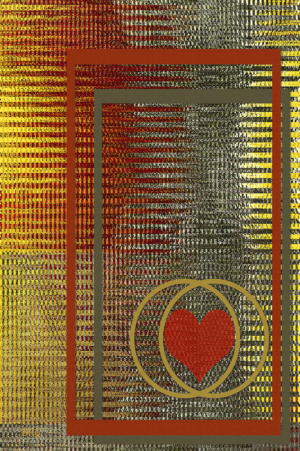 Portrait Of A Heart Digital Art
