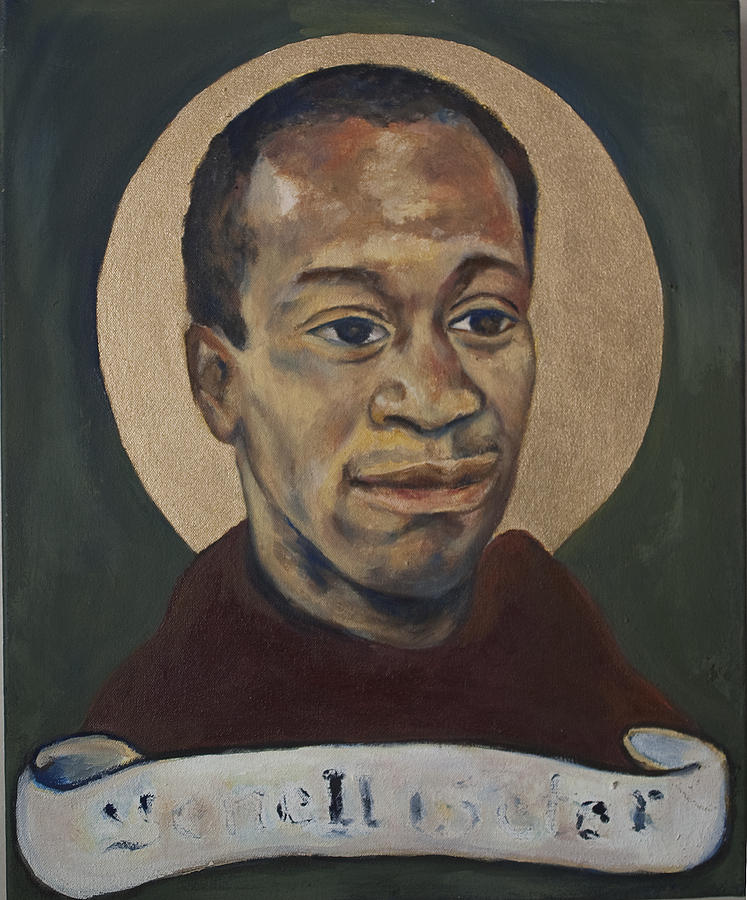 Portrait Of A Saint IIi Painting