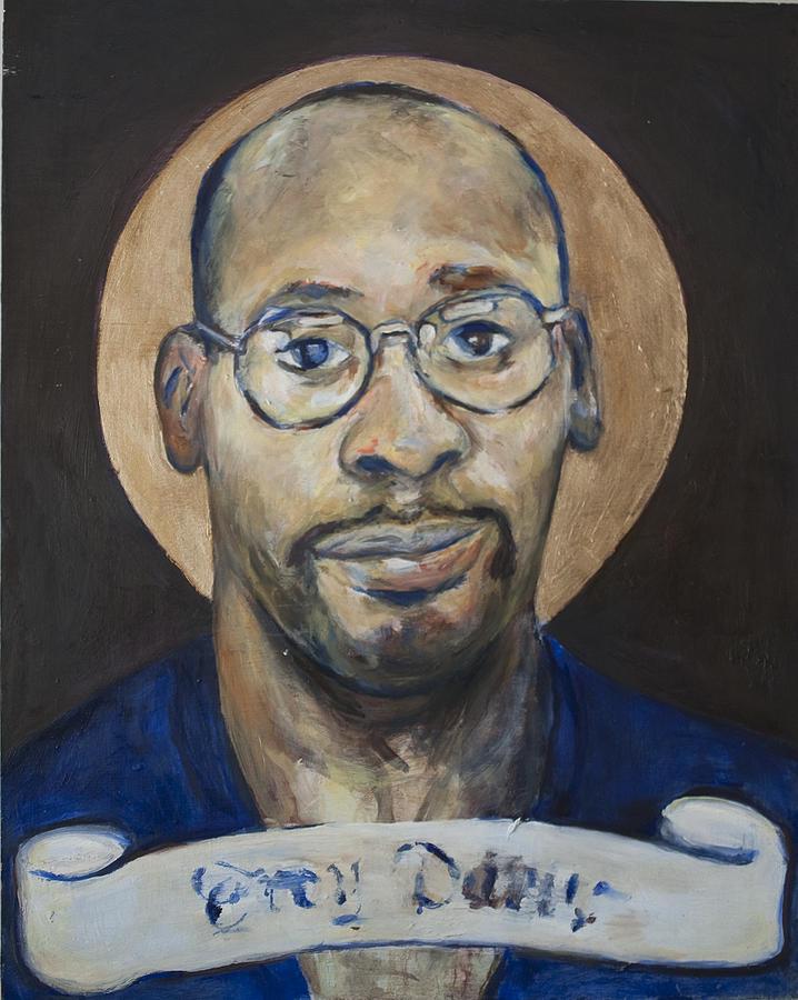 Portrait Of A Saint Painting