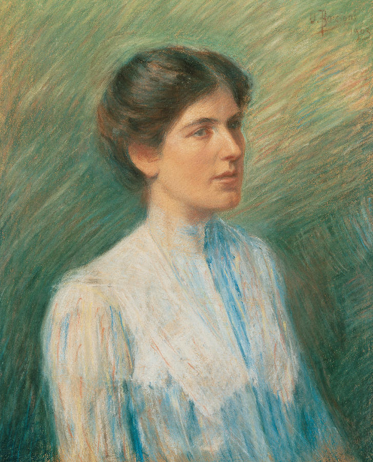 Portrait Of A Woman, 1903 Drawing