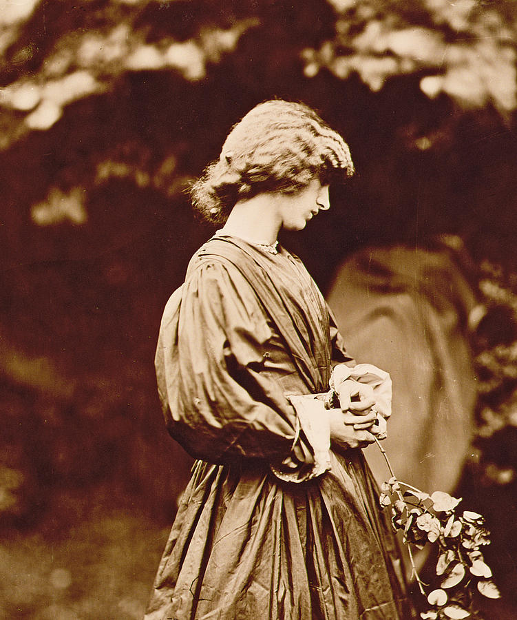 Portrait Of Jane Morris Photograph