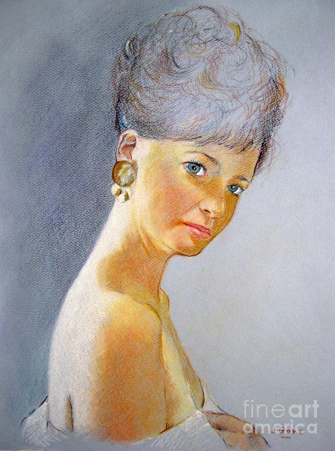Portrait Of Maureen Painting