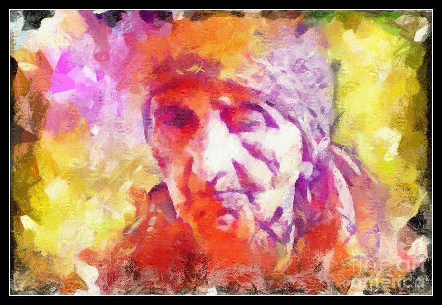Portrait Woman  Photograph - Portrait Of My Mother After by Arif-Zenun  Shabani