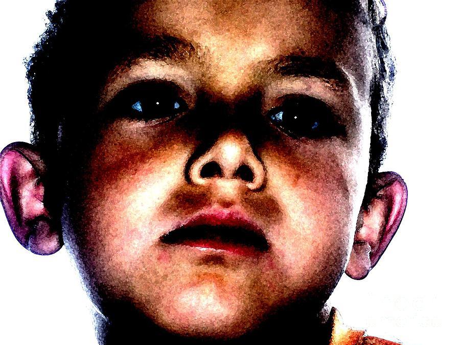 Portrait Of My Son Photograph