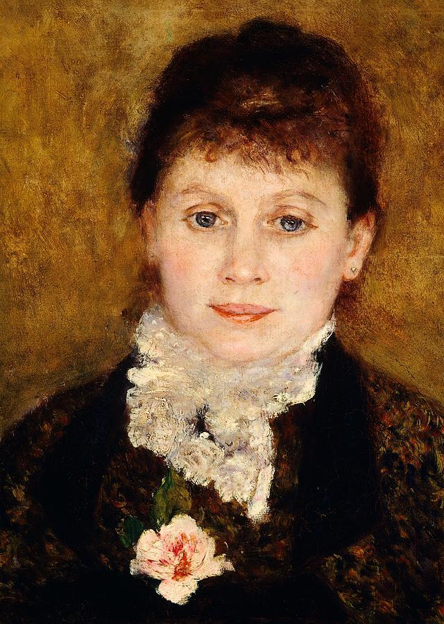 Portrait Of Woman Painting