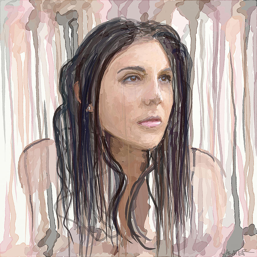 Portrait Painting - Natalie Painting