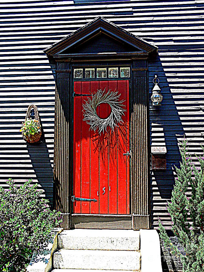 Portsmouth Door 2 Photograph  - Portsmouth Door 2 Fine Art Print