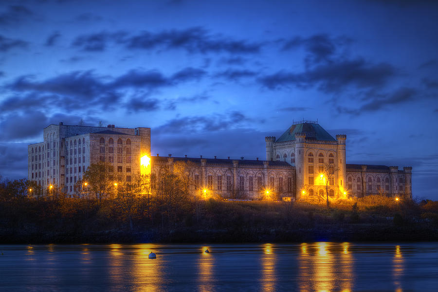 Naval Photograph - Portsmouth Naval Prison by Eric Gendron