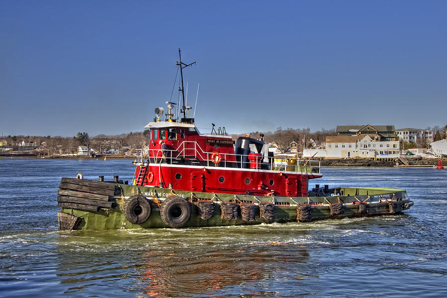 Portsmouth Tug Photograph