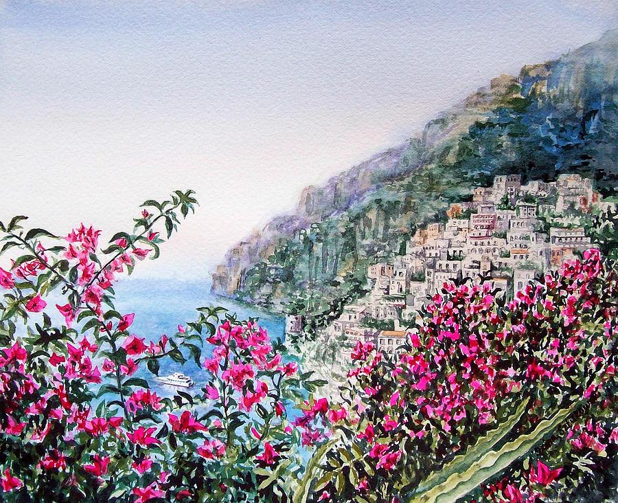 Positano Italy Painting