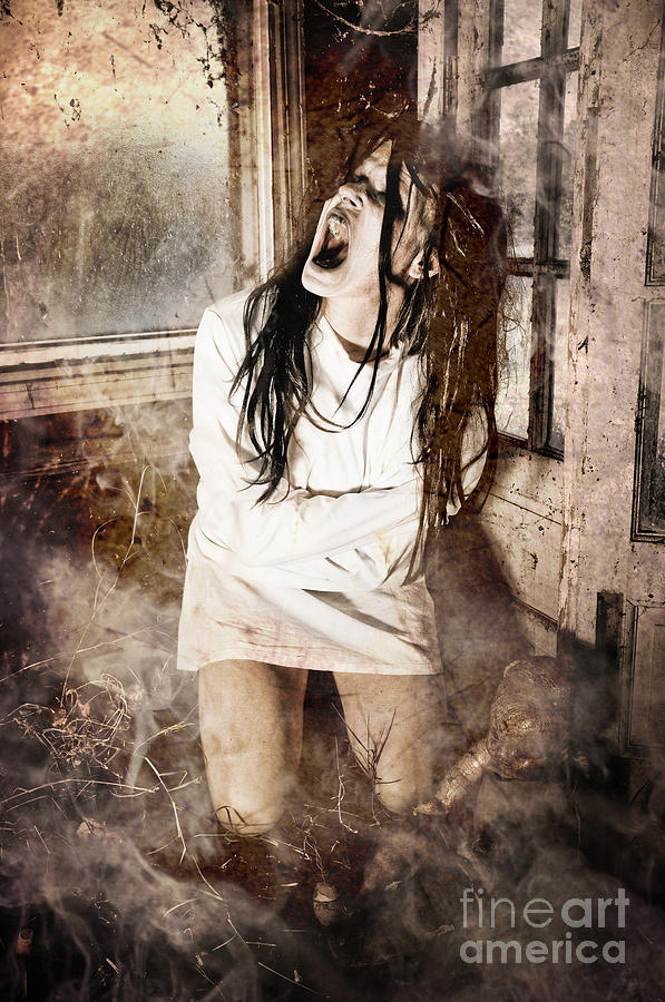 Possessed Photograph  - Possessed Fine Art Print