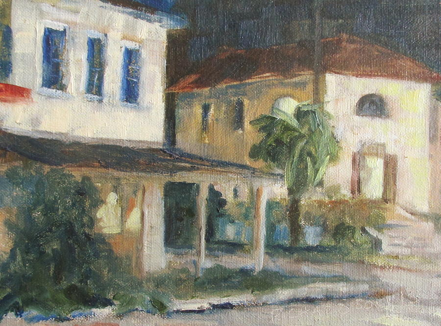 Apalachicola Painting - Post Office Apalachicola by Susan Richardson