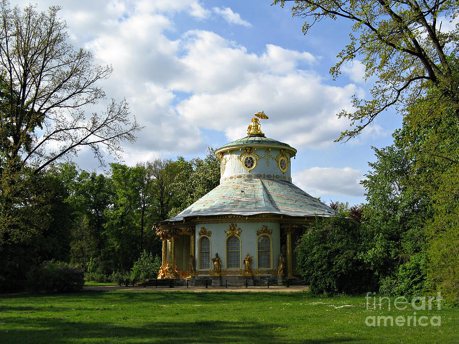 Potsdam The Chinese House Photograph  - Potsdam The Chinese House Fine Art Print
