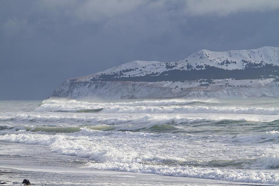 Alaska Photograph - Pounding Waves by Tim Grams