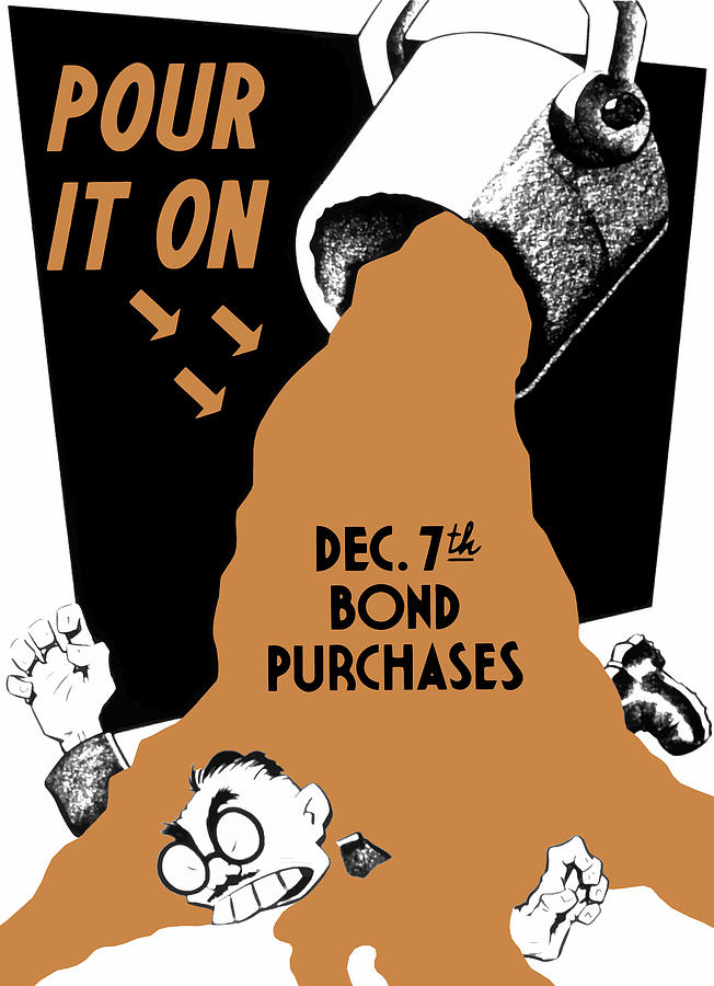 Pour It On December 7th Bond Purchases Painting