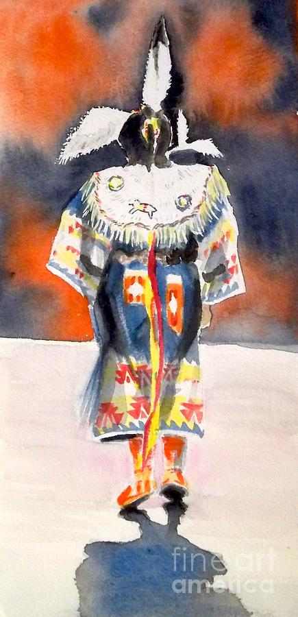 Pow Wow 1 Painting
