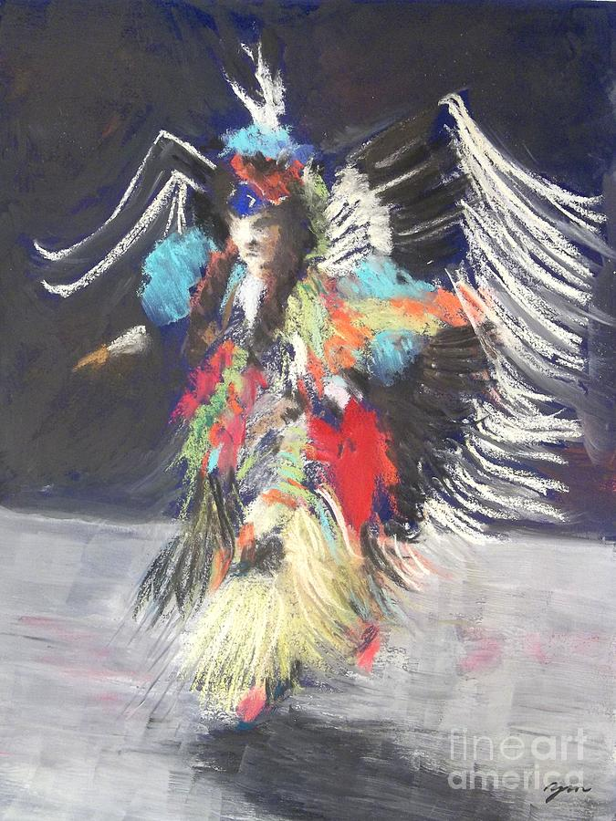 Pow Wow 2 Painting