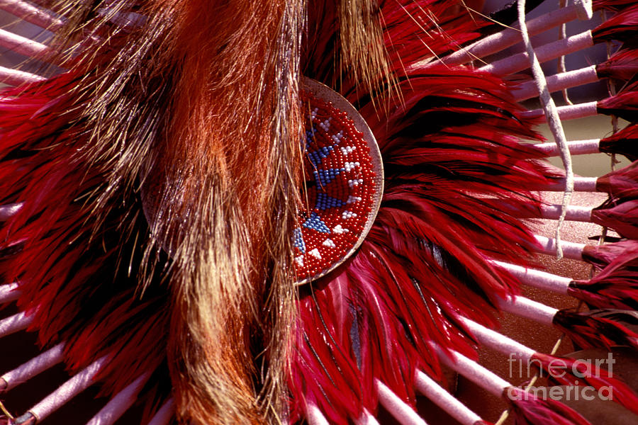 Indian Photograph - Pow-wow Costume by Paul W Faust -  Impressions of Light