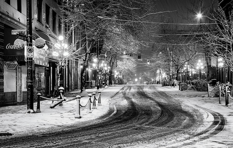 Powell And Carrall Street In Gastown Photograph