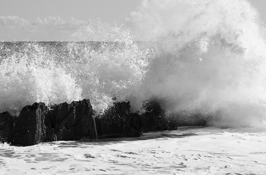 Power Of The Sea I Photograph