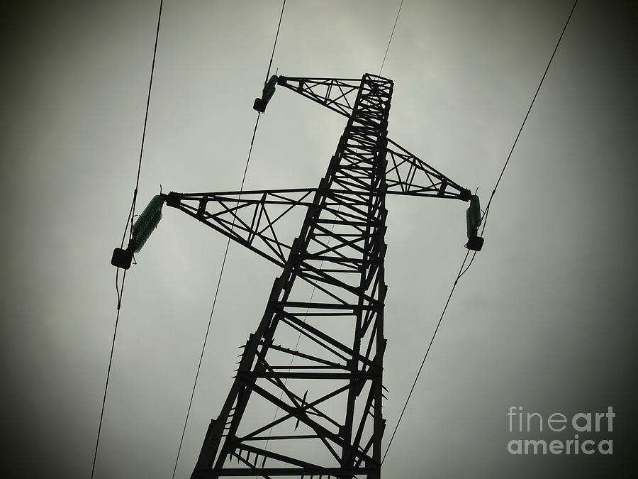 Power Pole Photograph