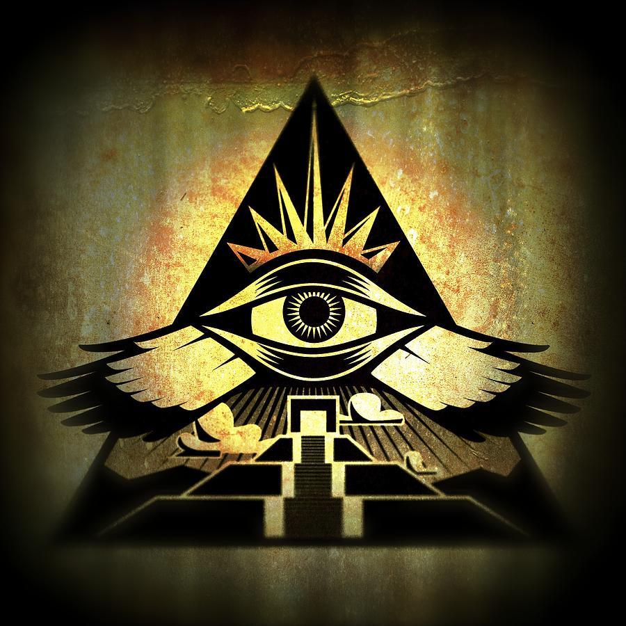 Power Pyramid Digital Art