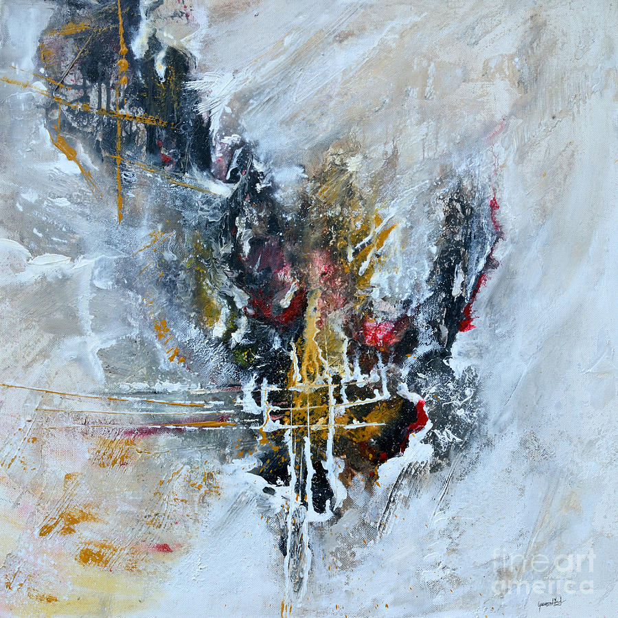 Powerful - Abstract Art Painting  - Powerful - Abstract Art Fine Art Print