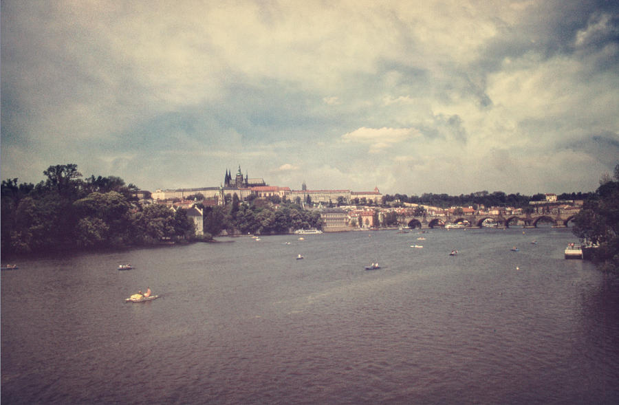 Prague Days II Photograph  - Prague Days II Fine Art Print
