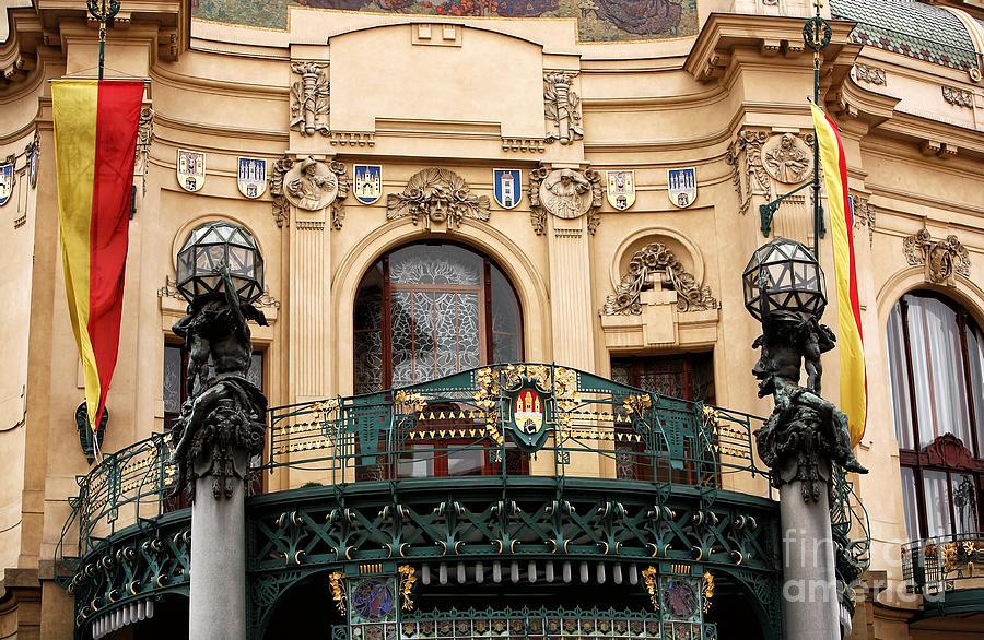 Prague Opera House Photograph