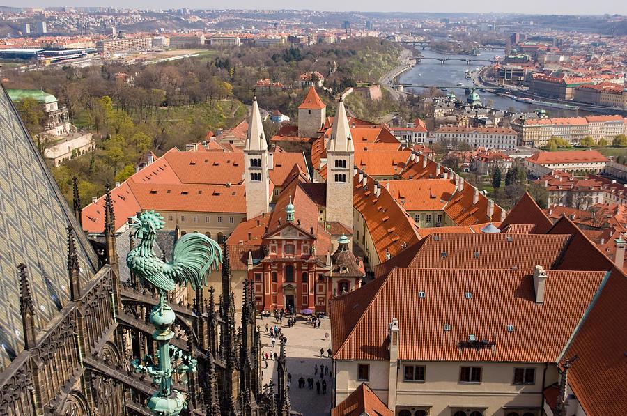 Prague Photograph - Prague View by Iryna Soltyska