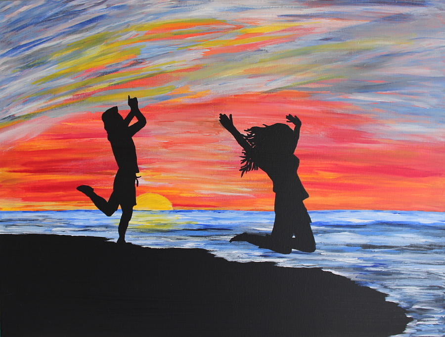 Praise And Joy Painting  - Praise And Joy Fine Art Print
