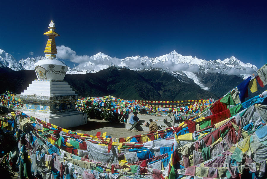 Prayer Flags Photograph
