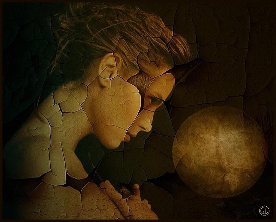Digital Art Digital Art - Prayer For Wholeness by Gun Legler