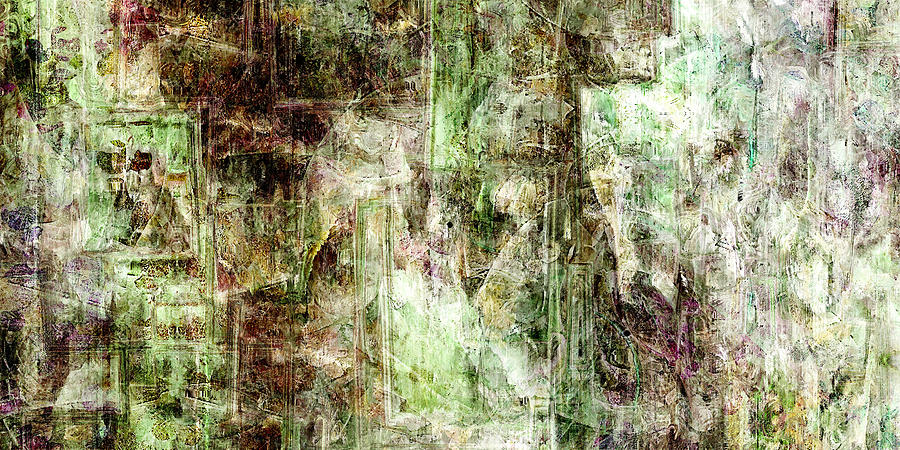 Abstract Mixed Media - Precipice - Abstract Art by Jaison Cianelli