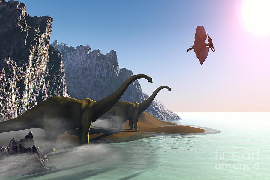 Prehistoric World Painting