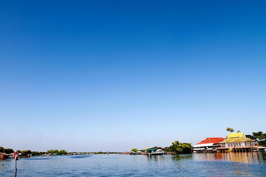 Prek Toal Floating Village Photograph