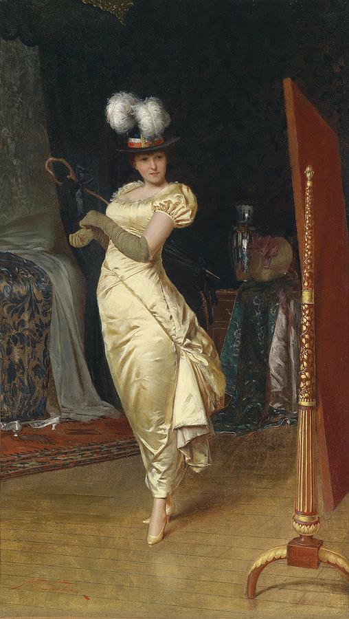 Frederick Soulacroix Digital Art - Preparing For The Ball by Frederick Soulacroix