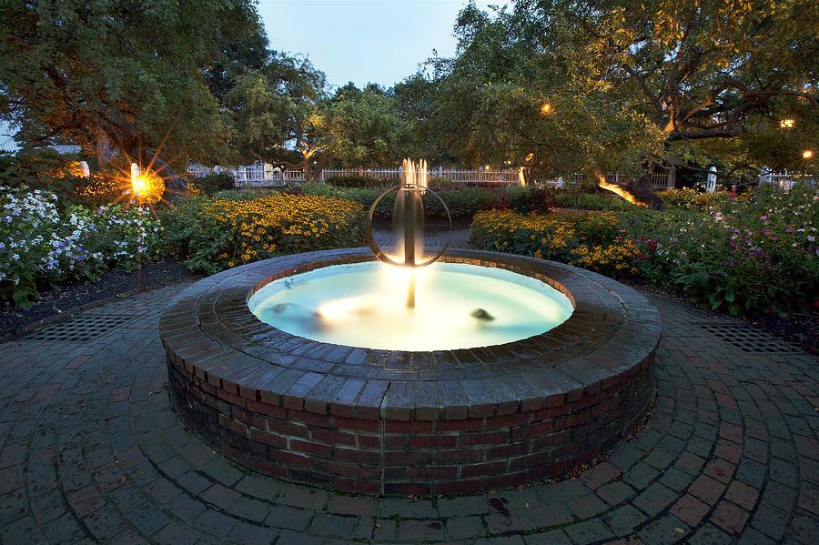 Prescott Fountain Photograph