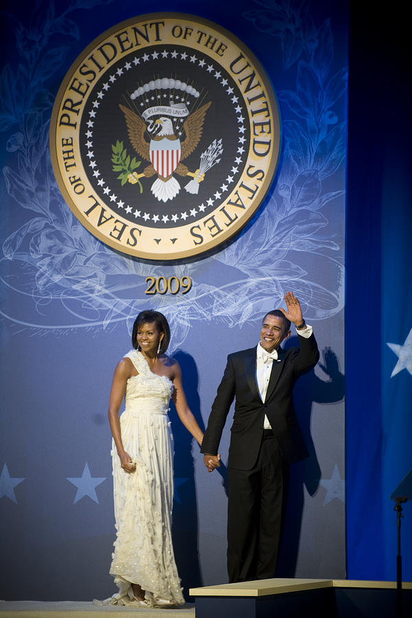 President And Michelle Obama Digital Art