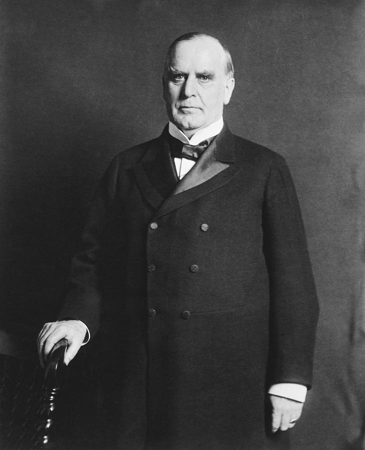 President William Mckinley Photograph by Underwood Archives