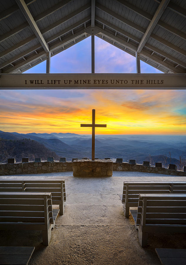 Pretty Place Chapel Sunrise Embraced Photograph