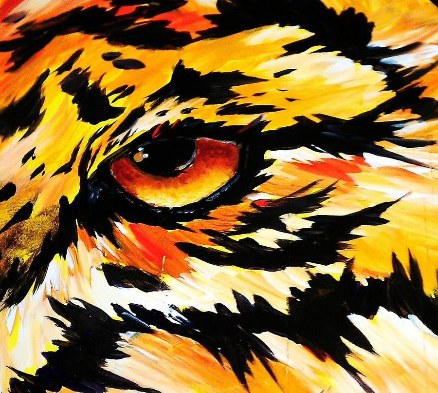 Prey Sighted Painting  - Prey Sighted Fine Art Print