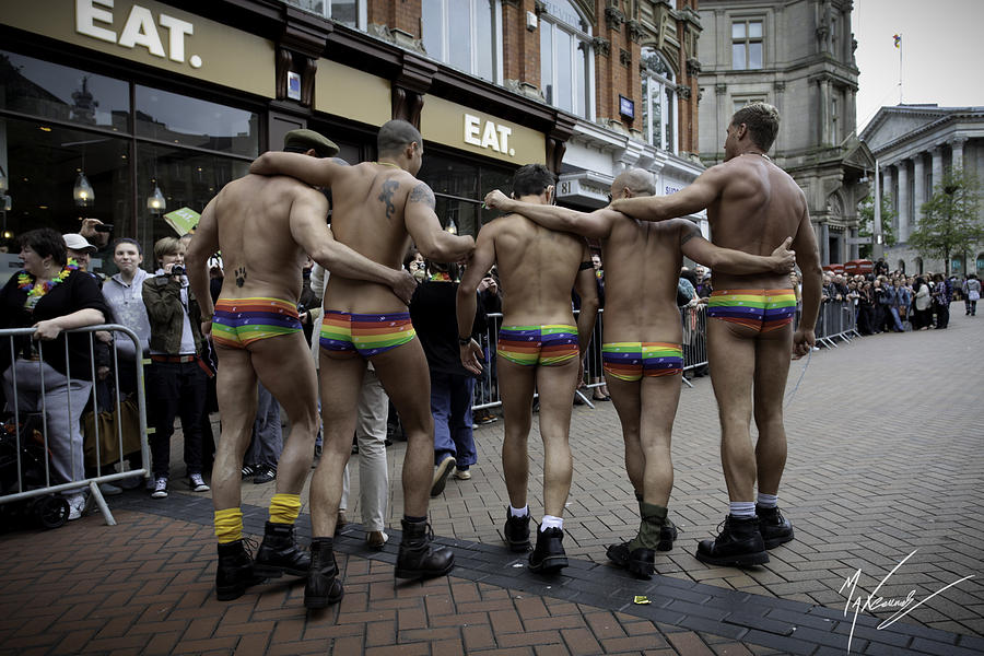 Birmingham England Photograph - Pride March by Max CALLENDER
